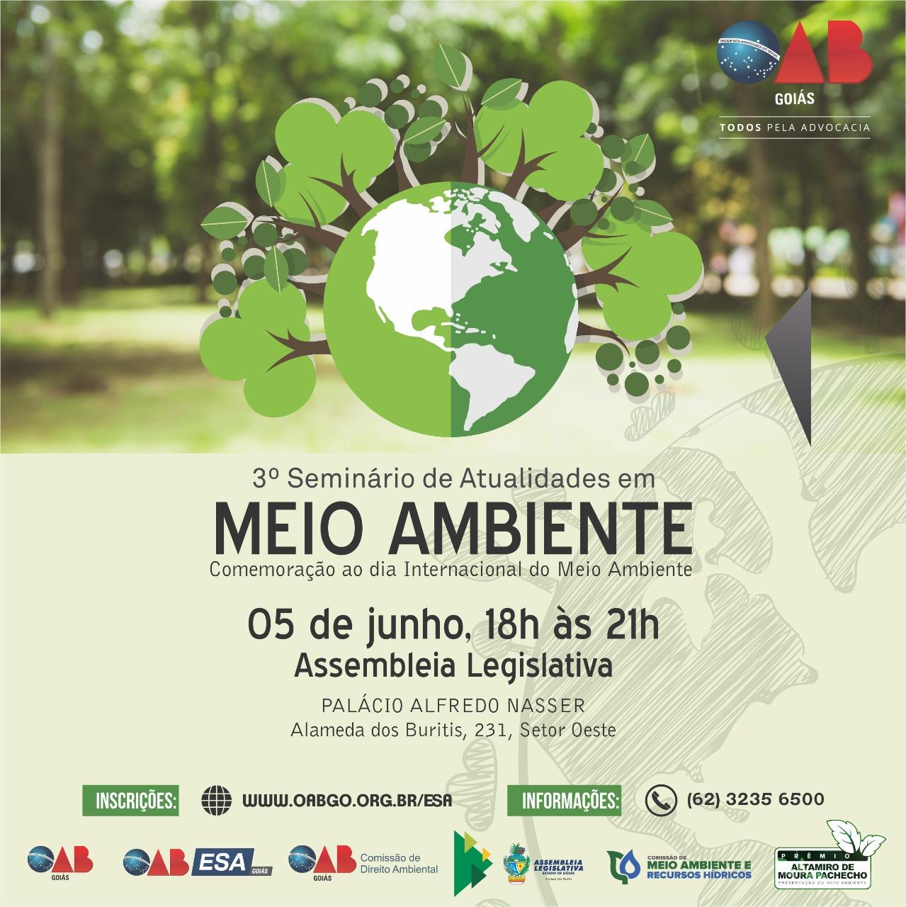 05.06 - 3º Seminário de Atualidades em Meio Ambiente