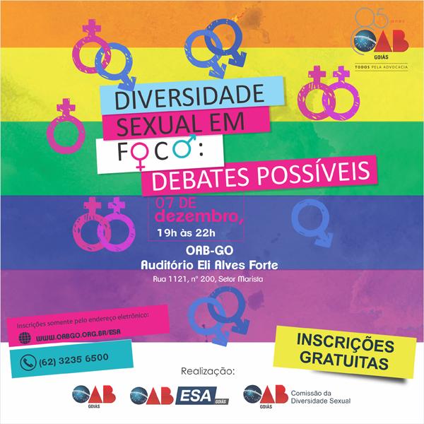 07.12 - Diversidade Sexual em Foco: Debates Possíveis