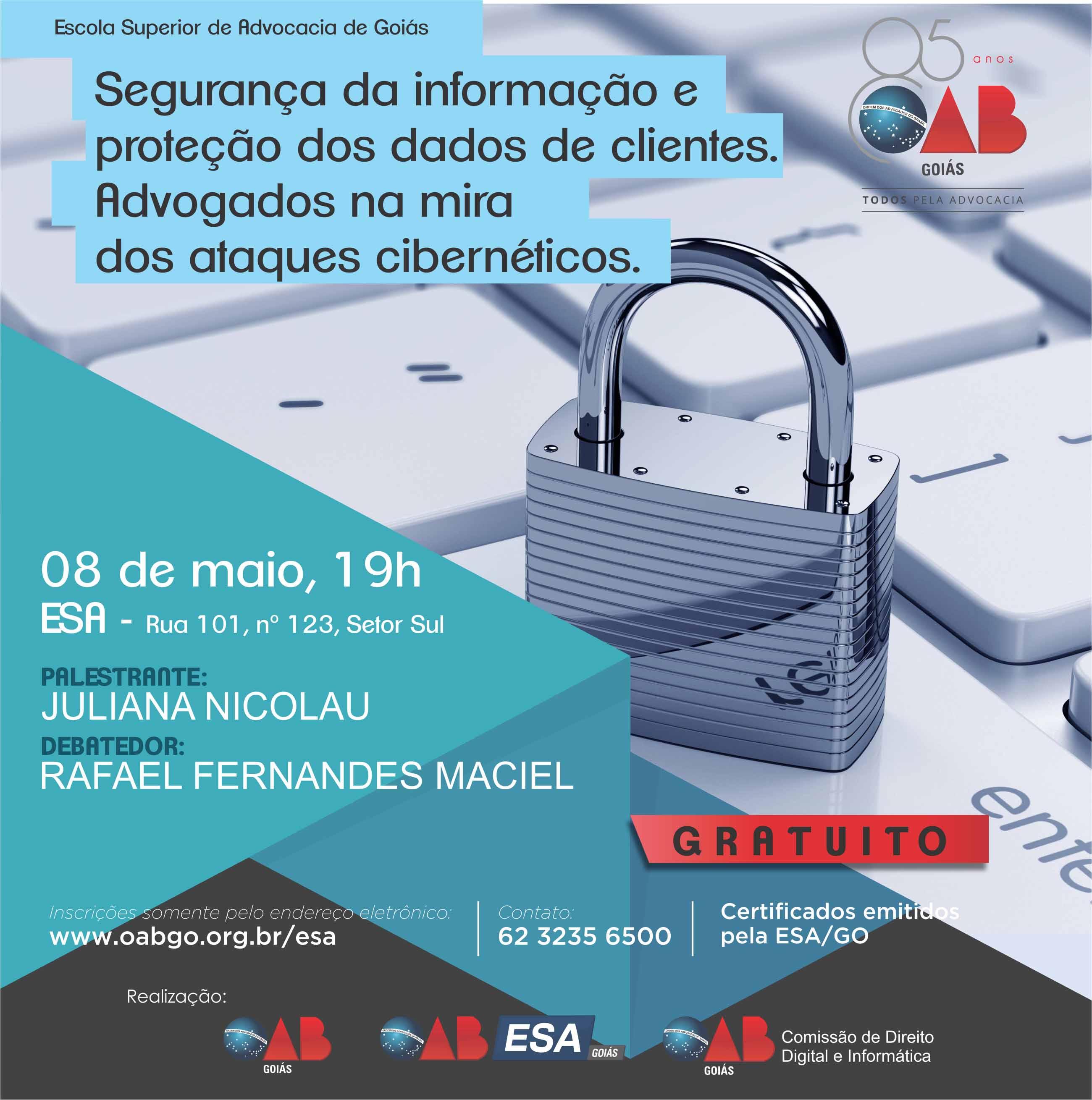08.05 - Segurança da Informação e Proteção dos Dados dos Clientes