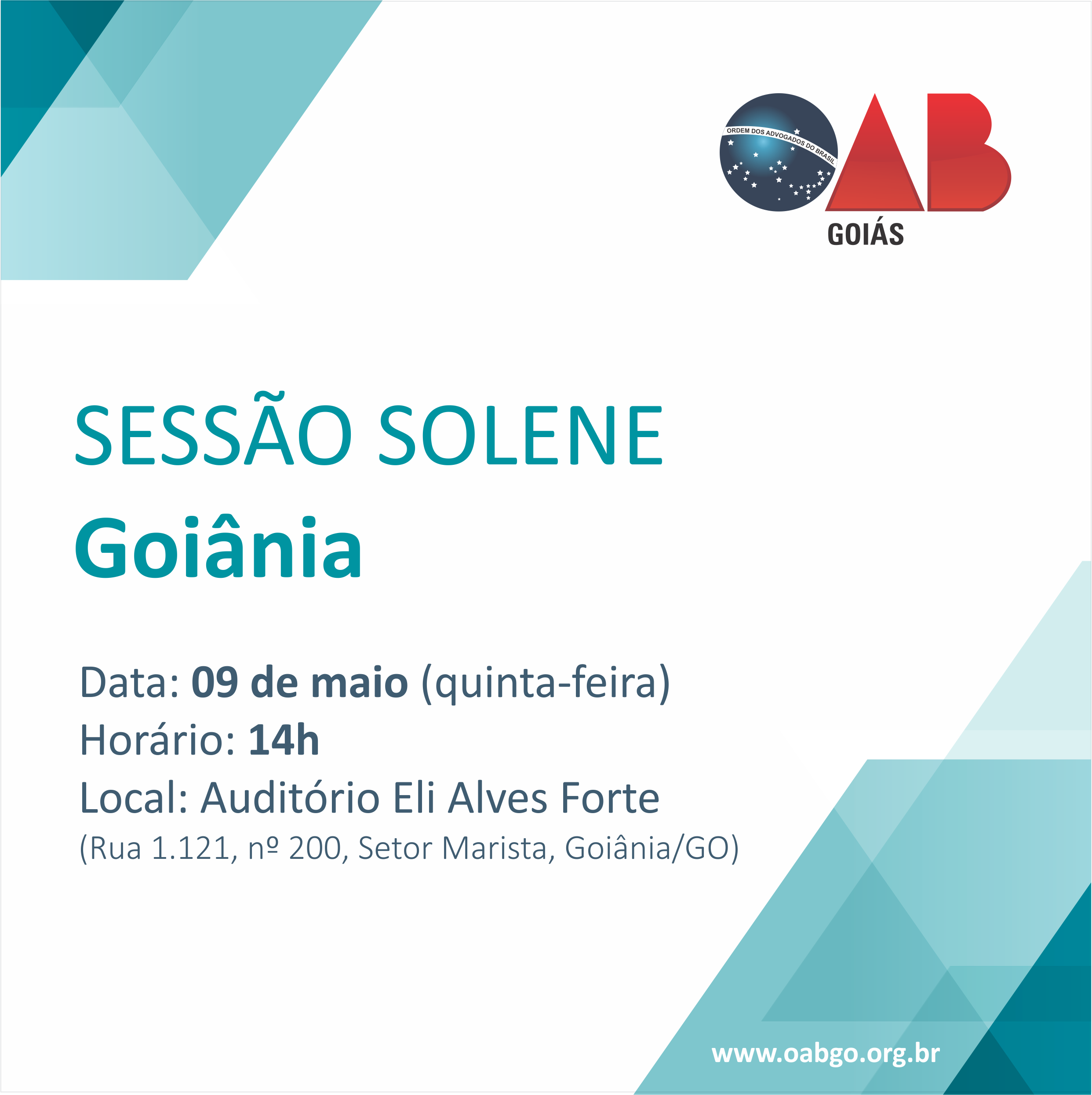 09.05 - Sessão Solene