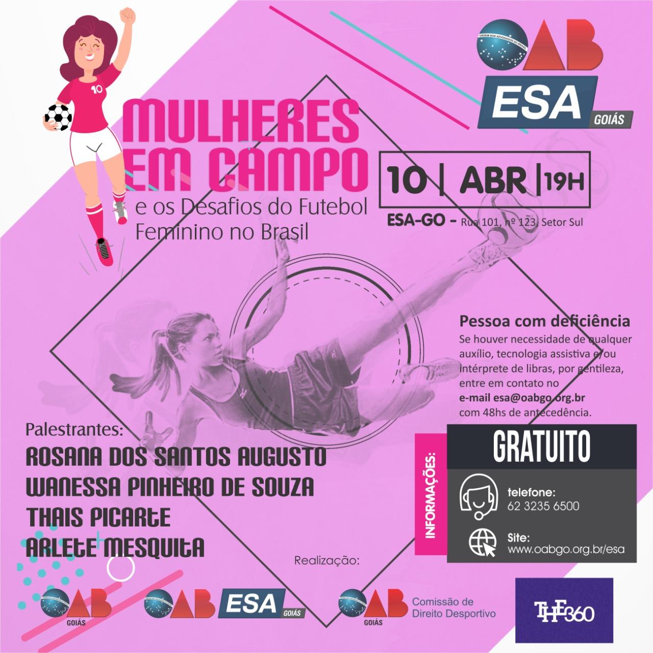 10.04 - Mulheres em Campo e os Desafios do Futebol Feminino no Brasil
