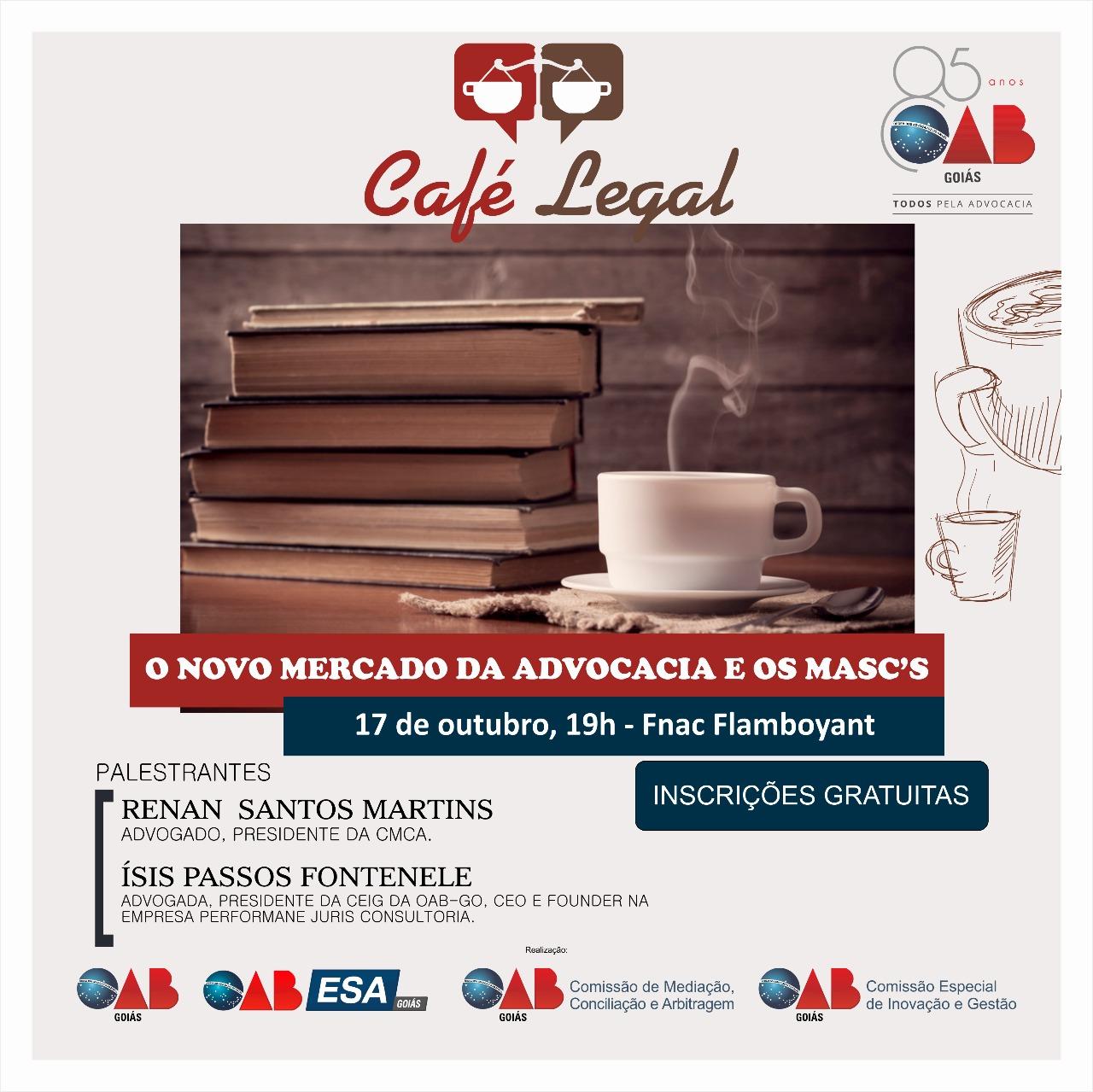 17.10 - Café Legal - O Novo Mercado da Advocacia e os Masc's