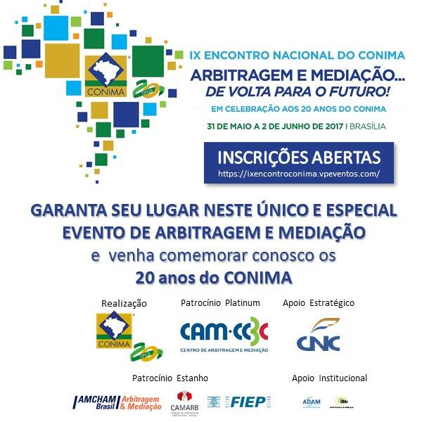 31.05 a 02.06 - IX Encontro Nacional do Conima