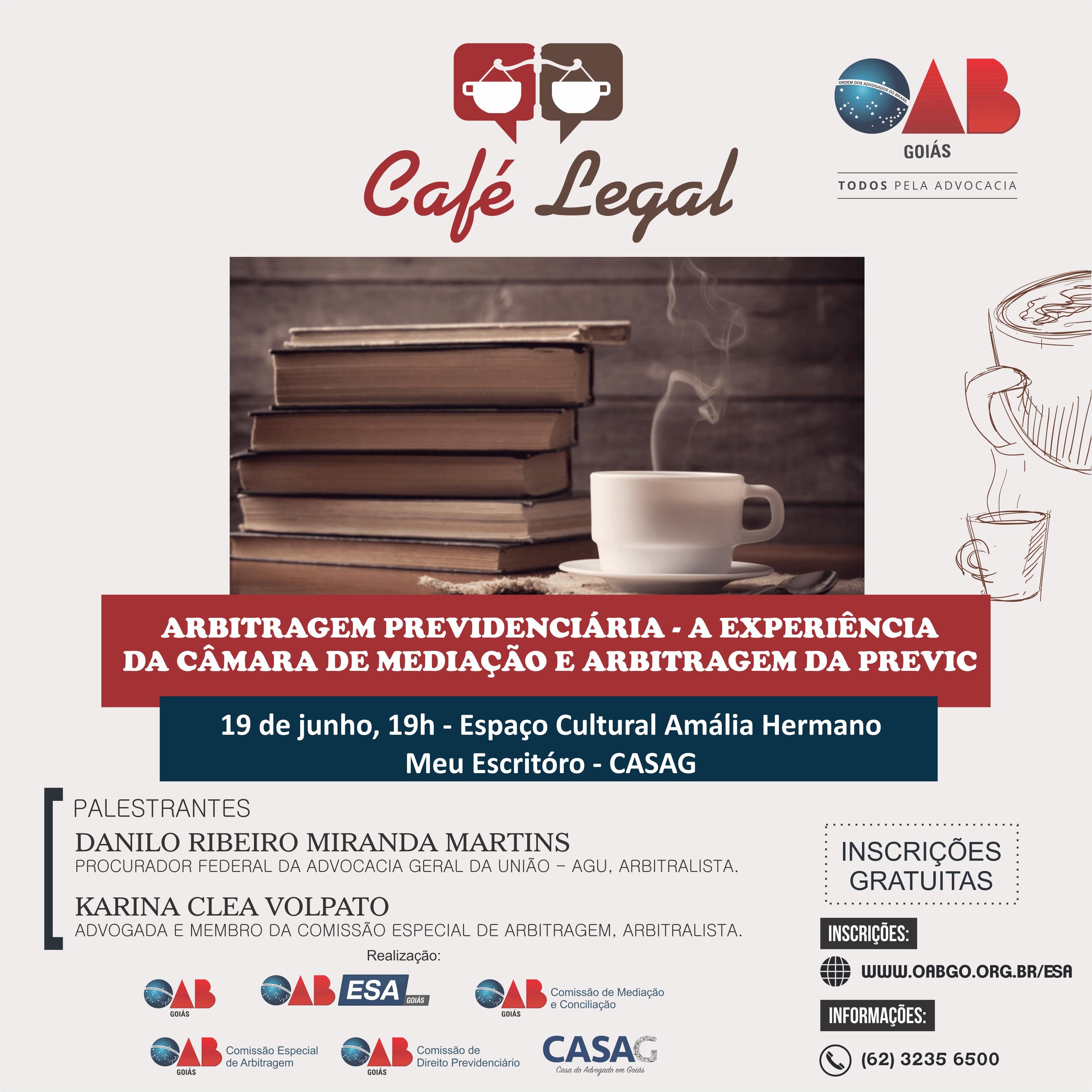 19.06 - Café Legal - Arbitragem Previdenciária