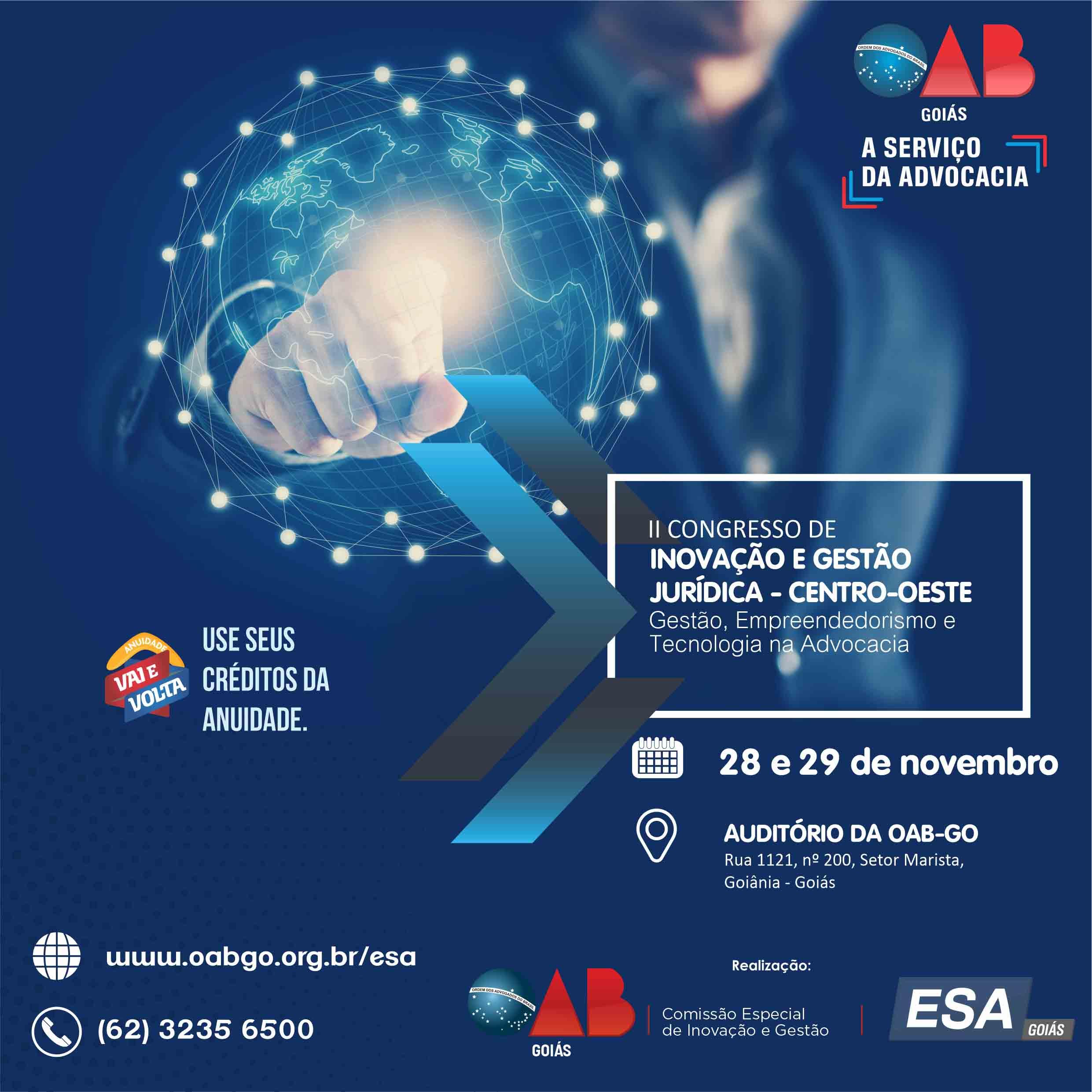 28 e 29.11 - II Congresso de Inovação e Gestão Jurídica