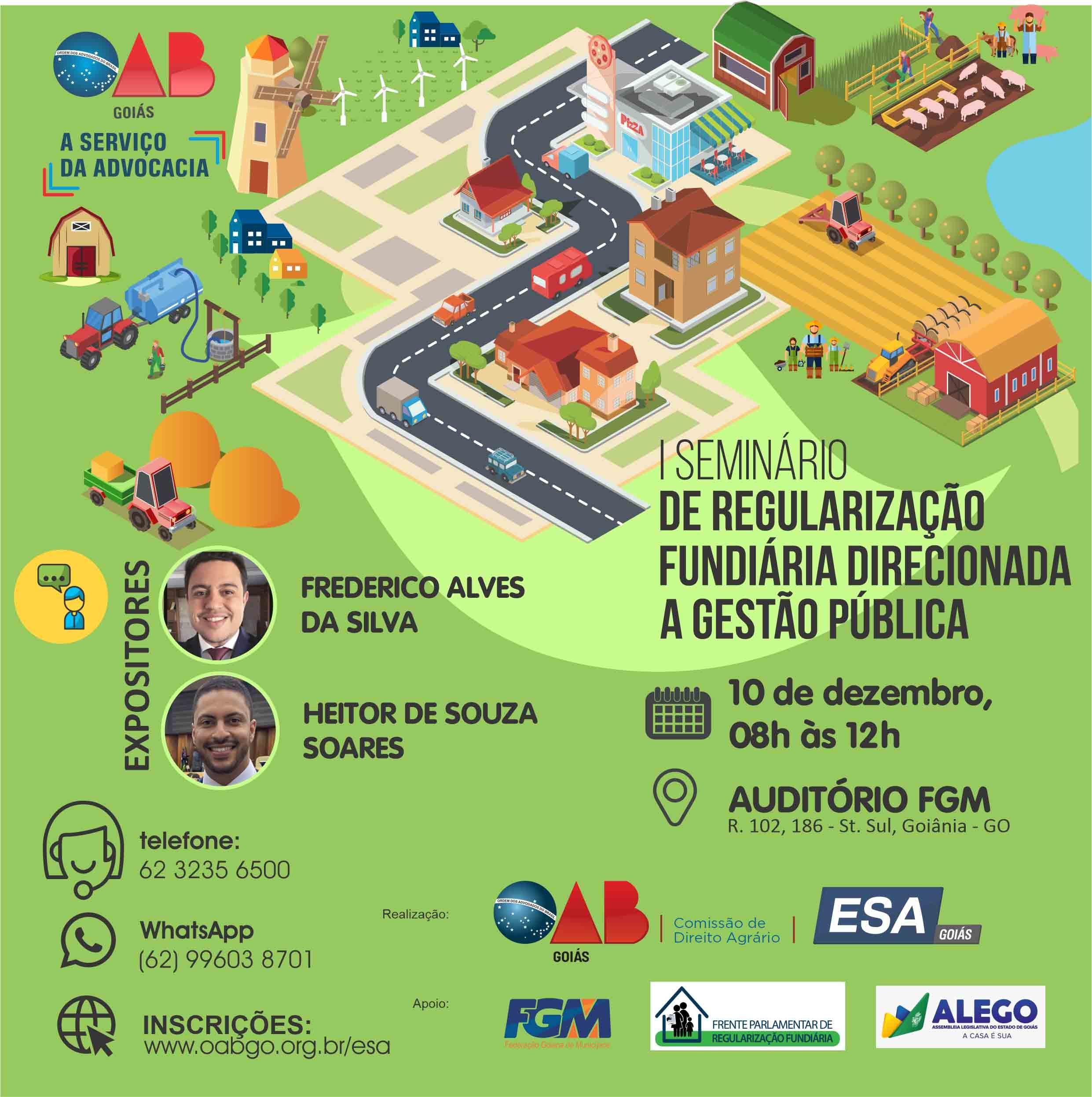 10.12 - I Seminário de Regularização Fundiária Direcionada à Gestão Pública