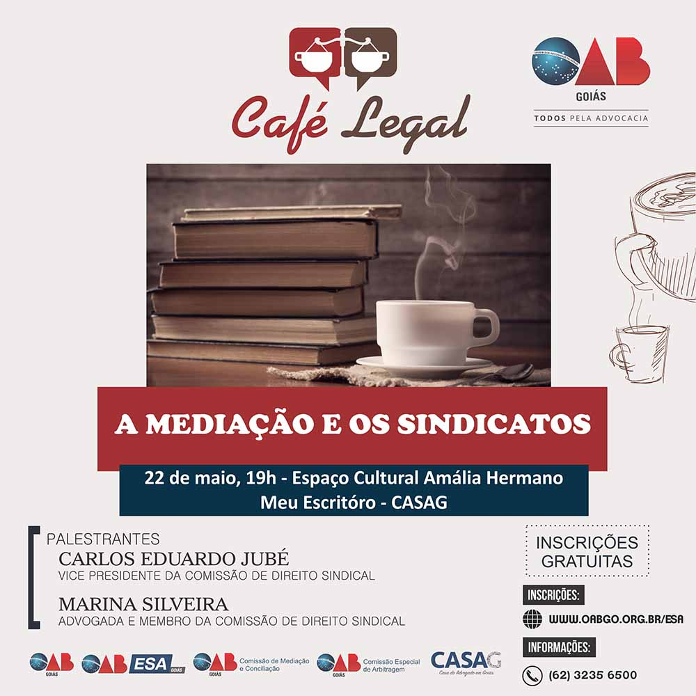 22.05 - Café Legal - A Mediação e os Sindicatos