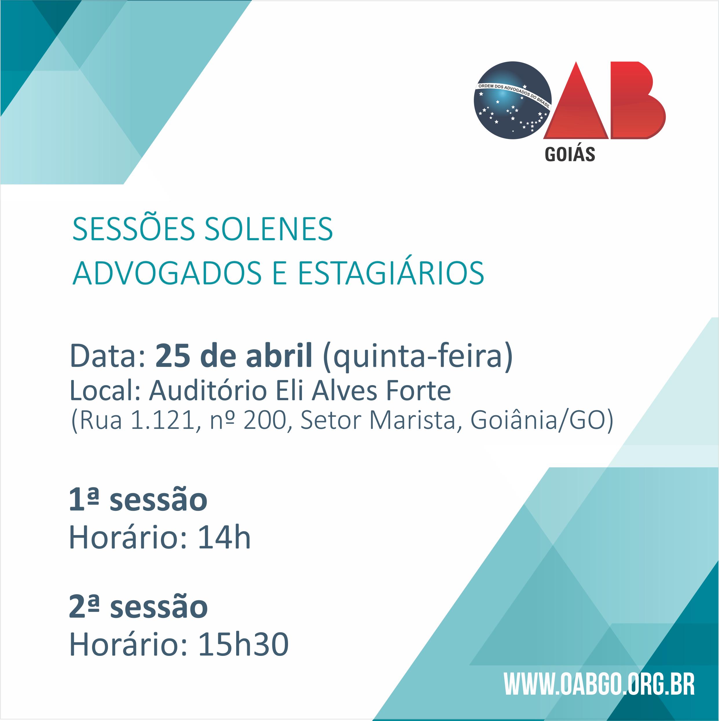 25.04 - Sessão Solene
