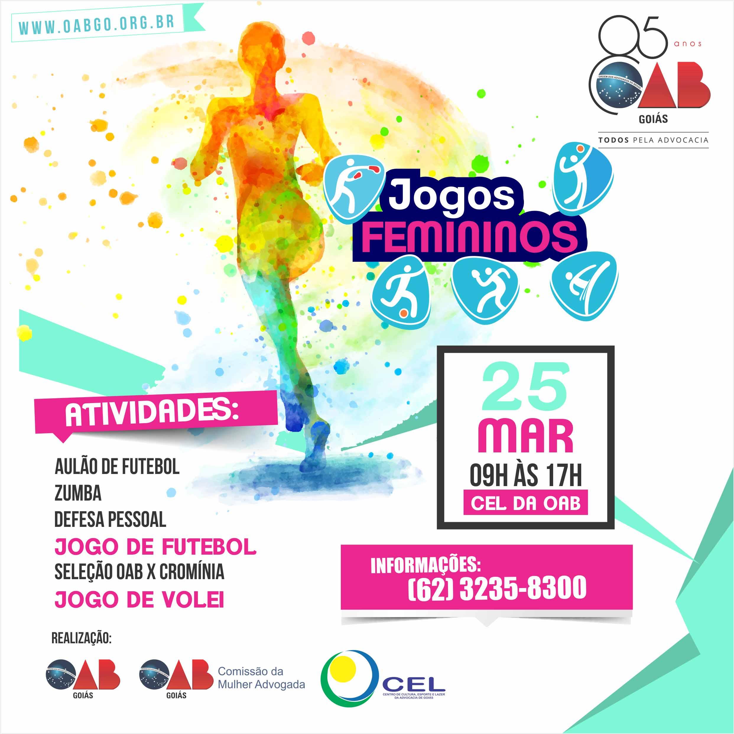 25.03 - Jogos Femininos