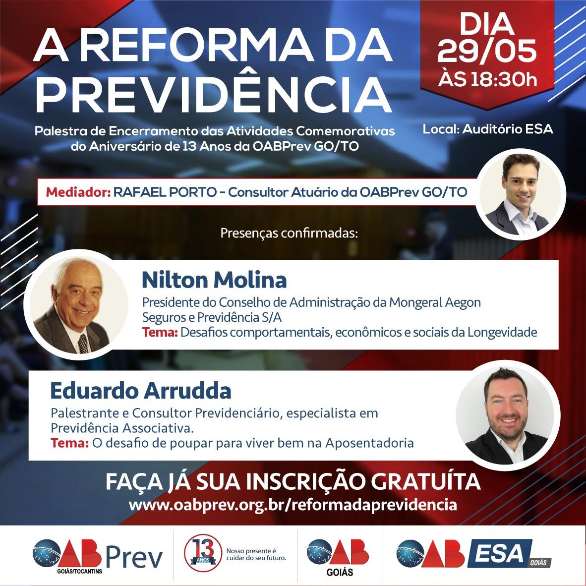 29.05 - Palestra - Reforma da Previdência