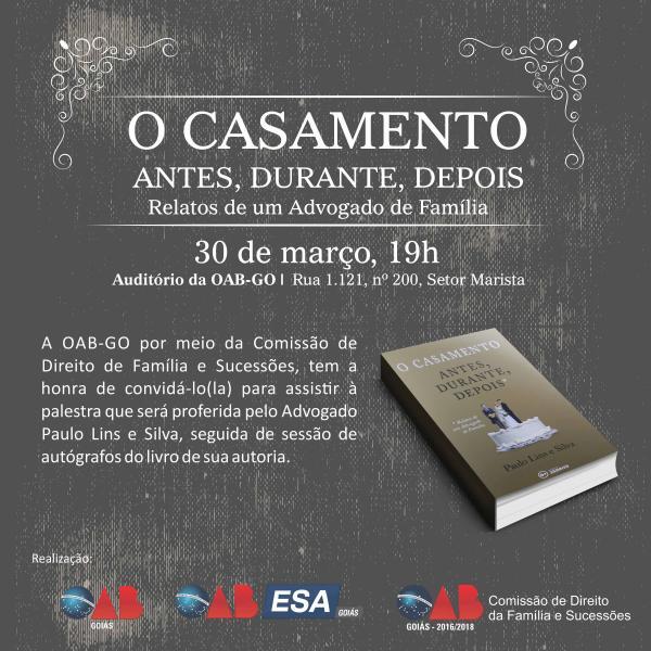 30.03 - Lançamento do Livro