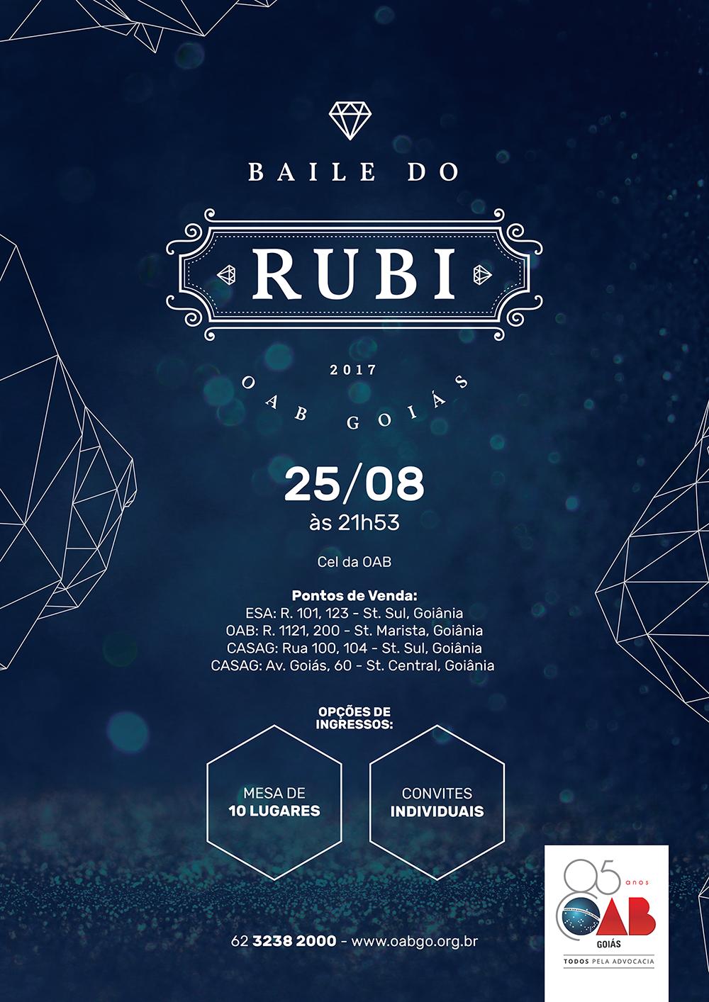25.08 - Baile do Rubi 2017