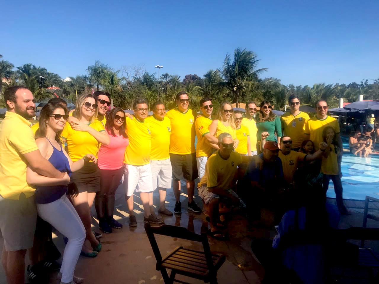 CASAG reúne centenas de advogados em transmissão de jogo do Brasil