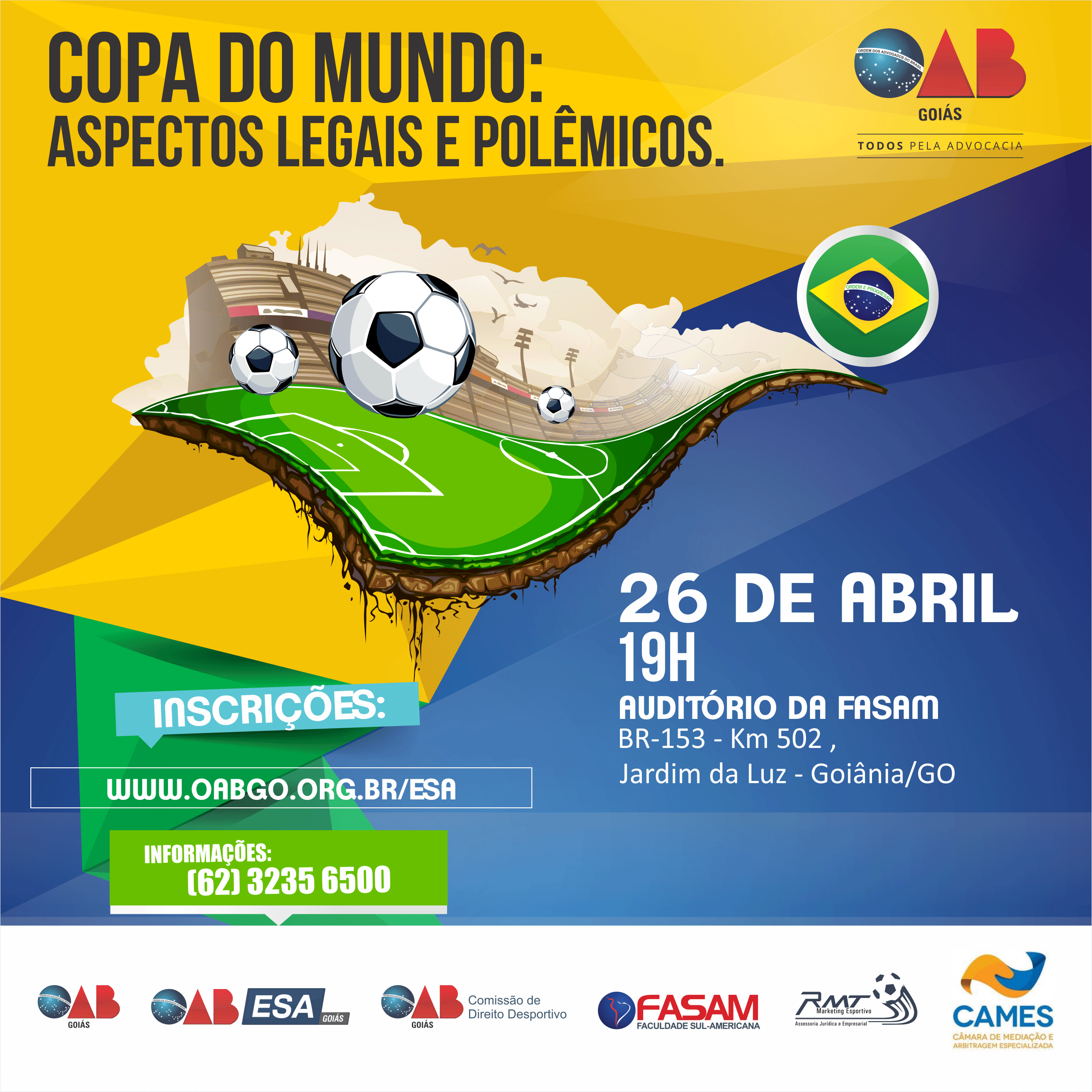 26.04 - Copa do Mundo - Aspectos Legais e Polêmicos