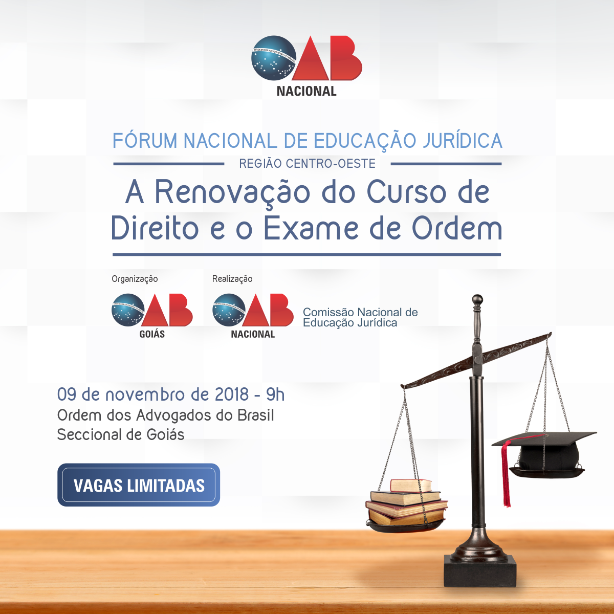 Fórum Nacional de Educação Jurídica discute futuro do ensino de Direito