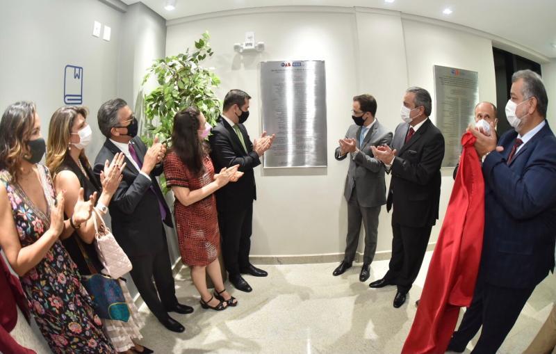 Lúcio Flávio: entregamos à advocacia o passaporte para o futuro com a reconstrução da sede da ESA