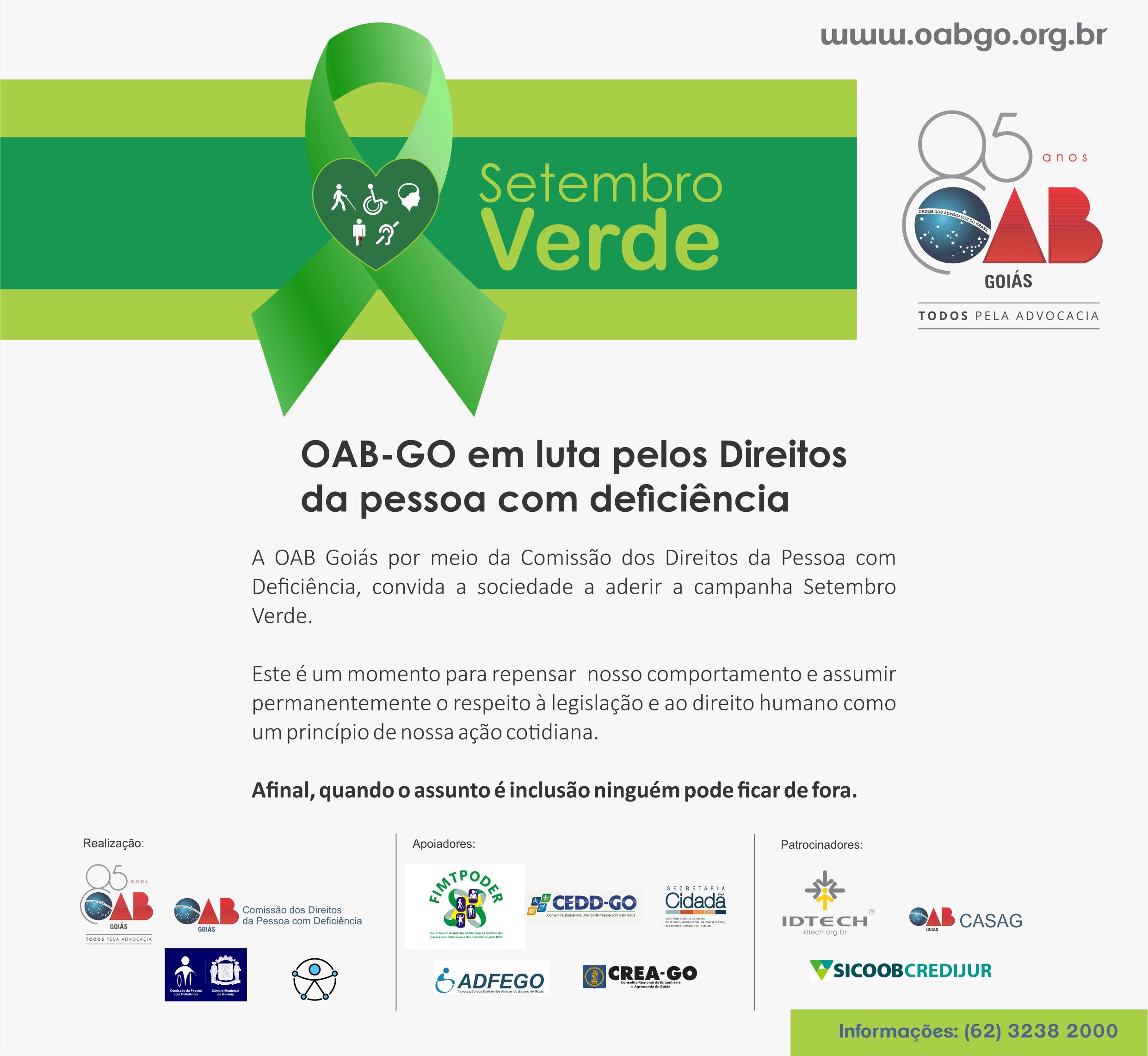 Campanha Setembro Verde - Ciclo de Palestras