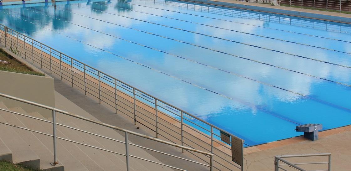Piscina Olímpica estará fechada no dia 11 de agosto