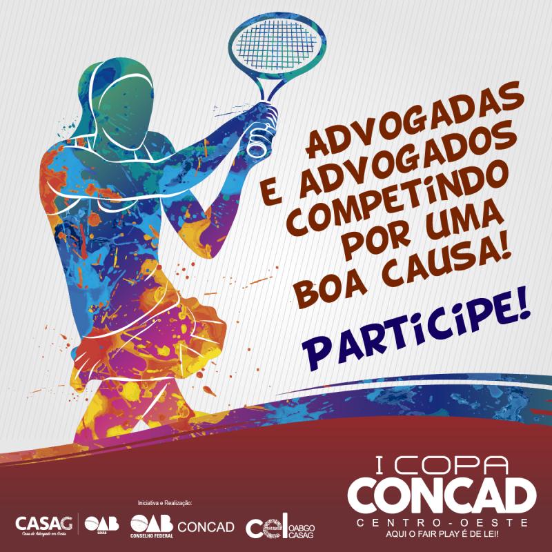 1ª Copa CONCAD já recebe inscrições