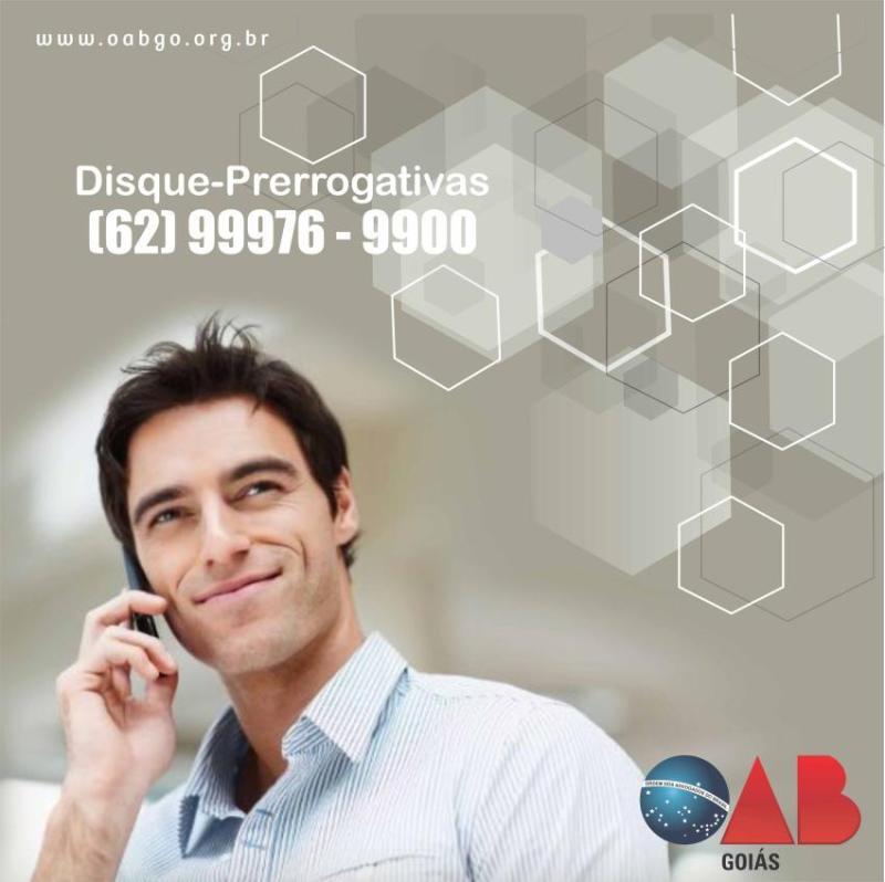 OAB-GO divulga plantonistas de prerrogativas de 19 a 25 de abril