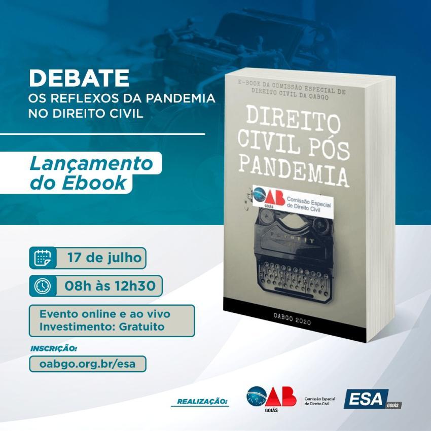 CEDCivil lança e-book Direito Civil Pós Pandemia