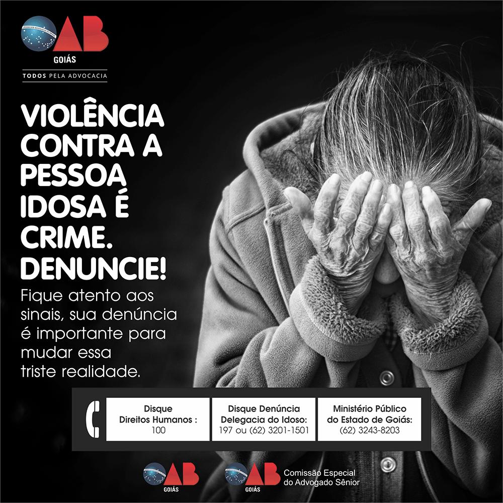 Campanha contra a Violência à Pessoa Idosa