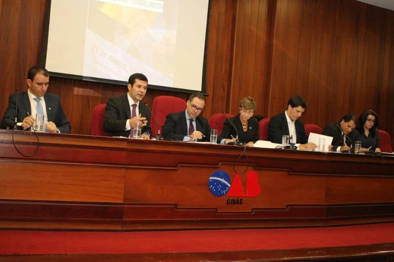 Em debate na OAB, especialistas elencam pontos positivos e negativos da Reforma Trabalhista