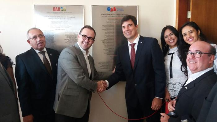 OAB Goiás inaugura reforma da sede administrativa de Luziânia