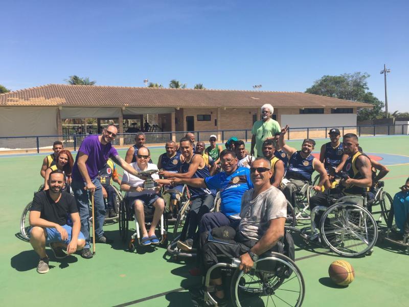 CDPcD realiza apresentação de esportes paralímpicos no CEL