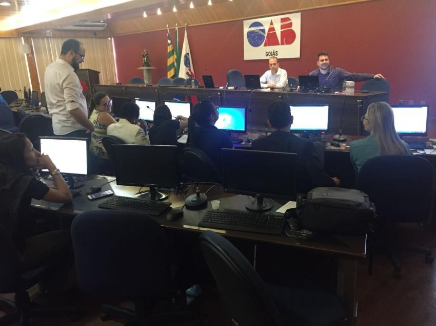OAB treina seus representantes para adesão ao Processo Eletrônico