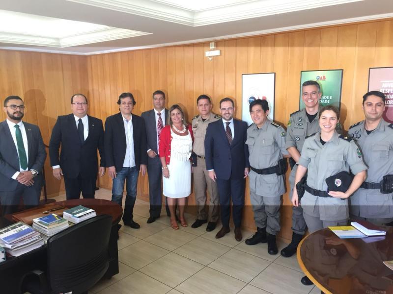 Representantes da PM visitam OAB-GO para divulgar novo procedimento de TCO