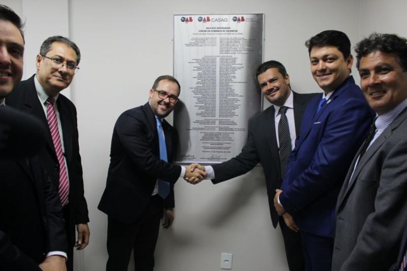 OAB-GO entrega novas salas à advocacia de Goianésia