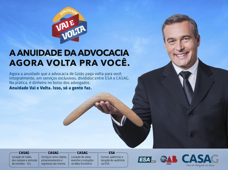 ESA/OAB e Casag lançam anuidade bumerangue