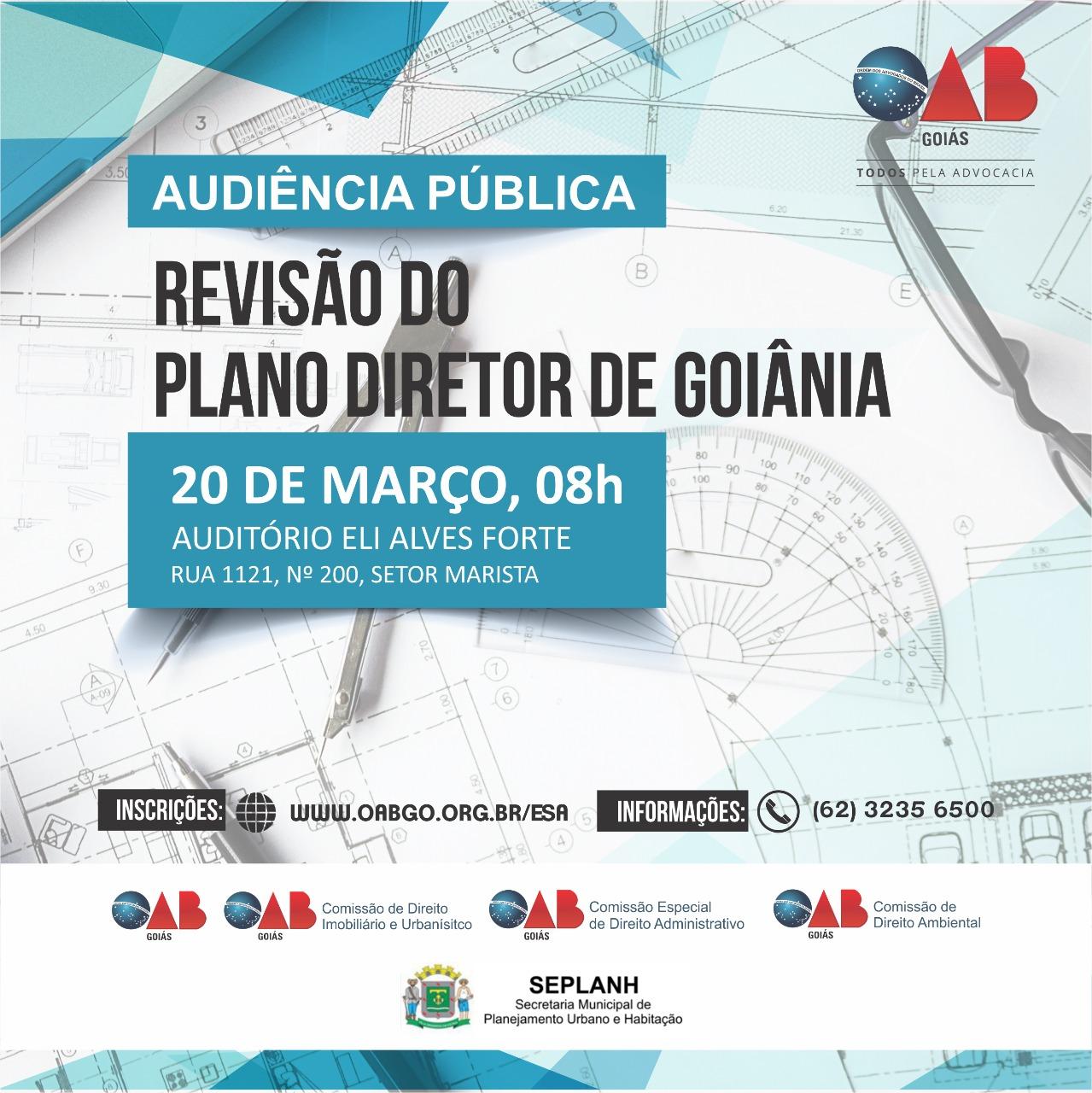 20.03 - Audiência Pública - Revisão do Plano Direitor de Goiânia