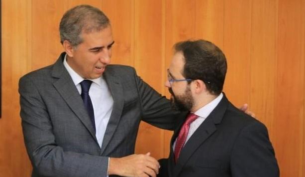 Lúcio Flávio recebe visita de José Eliton e reafirma autonomia da OAB-GO