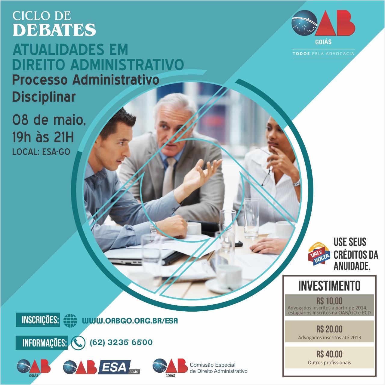 08.05 - Ciclo de Debates - Processo Administrativo Disciplinar