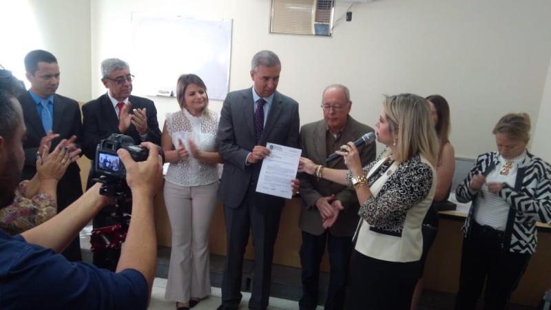 Subseção de São Luís de Montes Belos solicita ao TJGO elevação da comarca para entrância intermediária