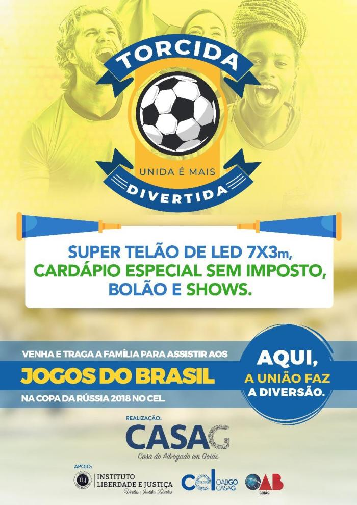 Copa do Mundo Sem Imposto CASAG - Eventos - CEL OAB-GO ca168654e9