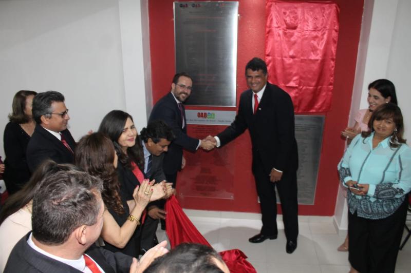 OAB-GO inaugura reestruturações em Inhumas, Araçu, Itauçu e Taquaral