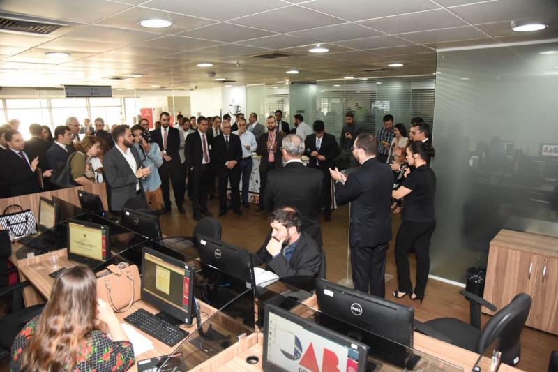 Rede wi-fi exclusiva para a advocacia está disponível em todo o Complexo Trabalhista de Goiânia