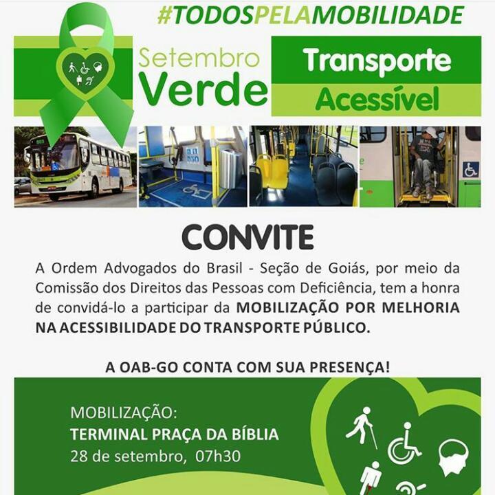 28.09 - Campanha Todos Pela Mobilidade