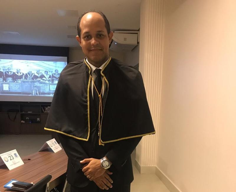 CS Carlos André Nunes toma posse na Academia Maçônica de Letras de Goiás