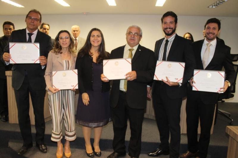 Toma posse nova diretoria da subseção de Águas Lindas de Goiás