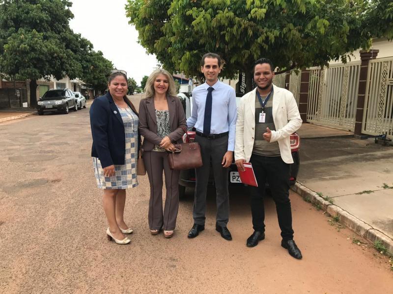 Comissão de Combate ao Exercício Ilegal da Profissão autua advogados em Mozarlândia