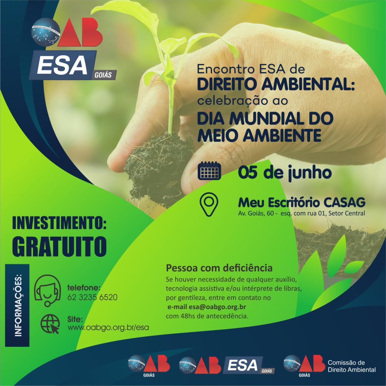 05.06 - Celebração ao Dia Mundial do Meio Ambiente