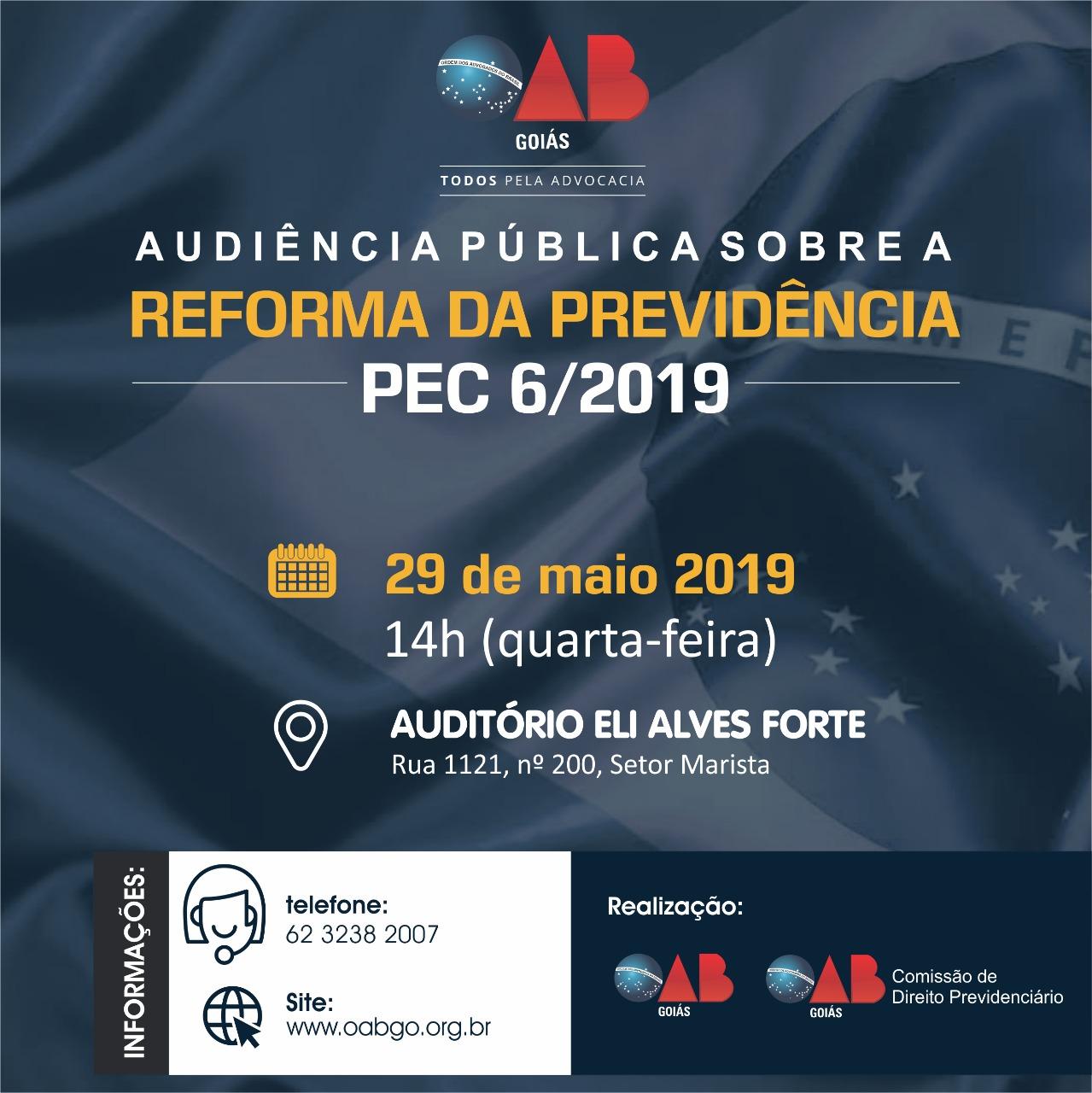 29.05 - Audiência Pública - Reforma da Previdência