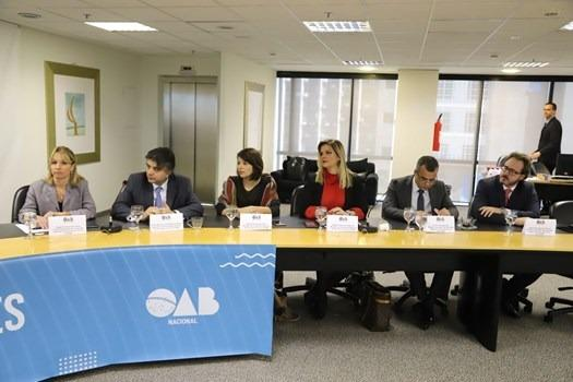 Presidente da CEEP debate agenda de ações no Conselho Federal