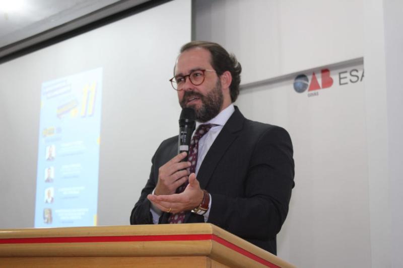 """""""A OAB garante a qualificação à advocacia em Goiás"""", diz Lúcio Flávio em abertura do Mês da Advocacia"""