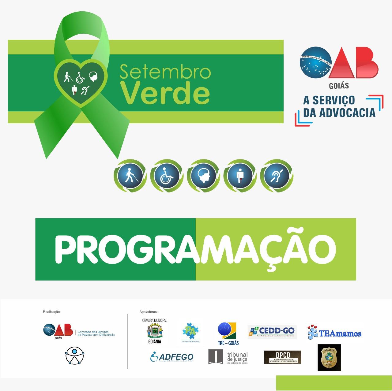 01.09 - Programação Setembro Verde