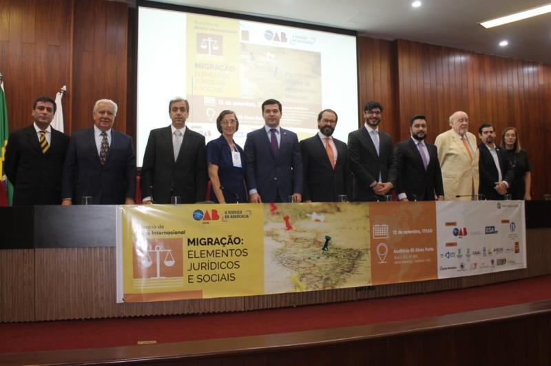 Democracia, pluralidade, diversidade e tolerância marcam o I Encontro de Direito Internacional da OAB-GO